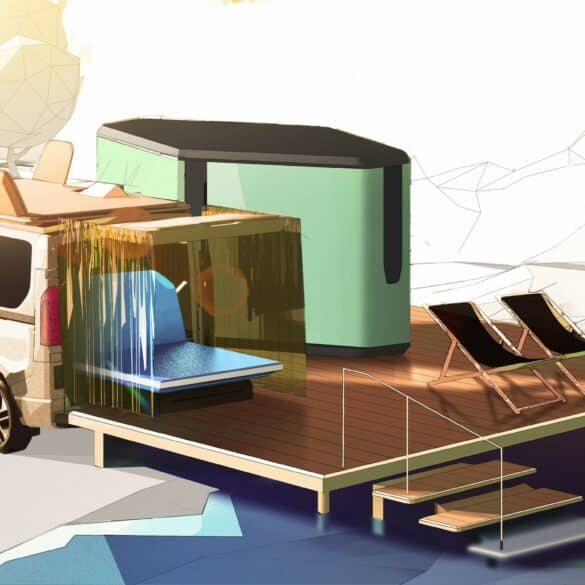 assets Magazin: Renault Hippie Caviar Hotel