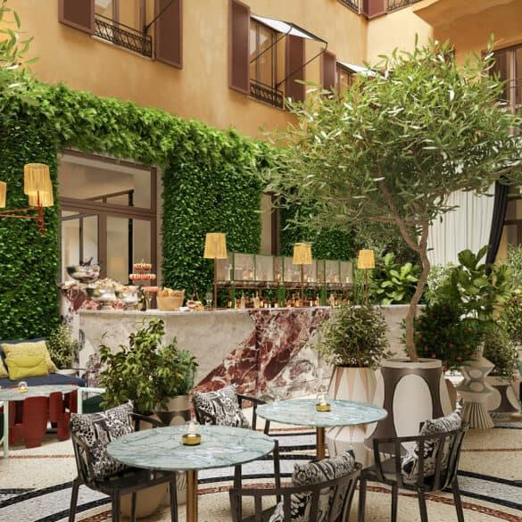 assets Magazin: Hotel W Rom Restaurant