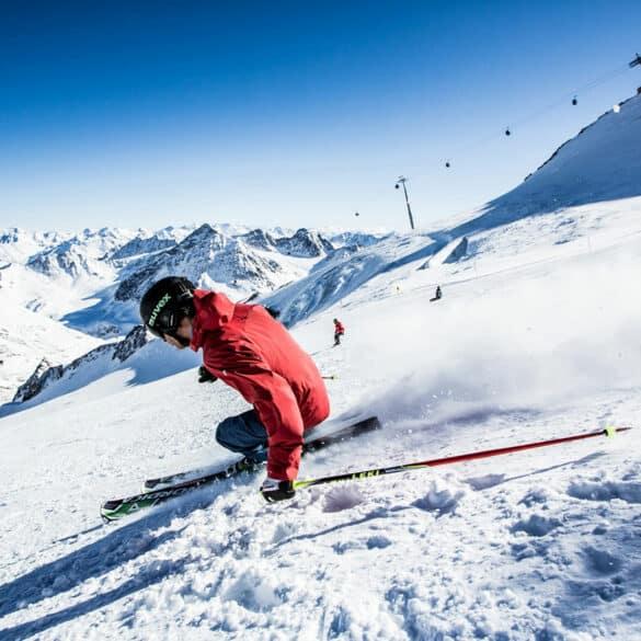 assets Magazin: Skifahren am Pitztaler Gletscher